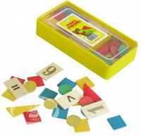 """Математический набор """"Учись считать"""" С-516 деревяный."""
